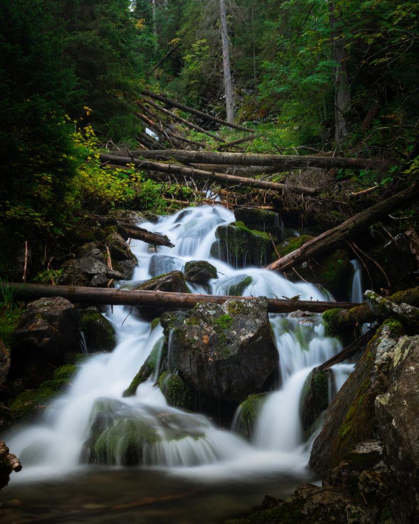 Nature photography of Rohacsky Vodopad